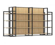 便利店货架——钢木